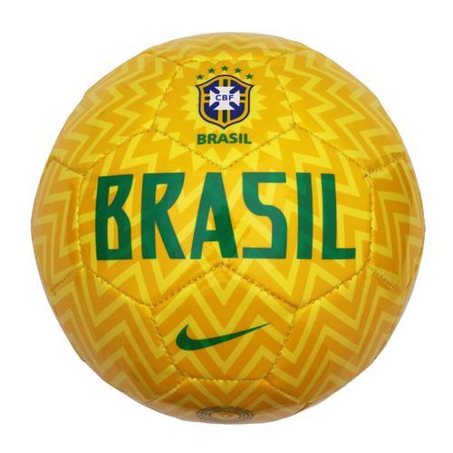 b37a31530f Mini Bola Nike Brasil Skills Amarela