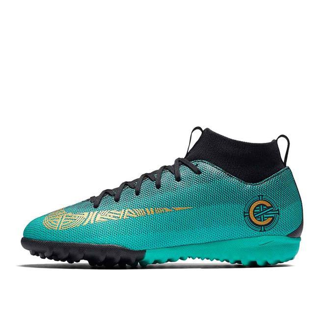Chuteira Society Nike MercurialX Superfly 6 Academy CR7 Infantil. Ampliar 25129f6f09
