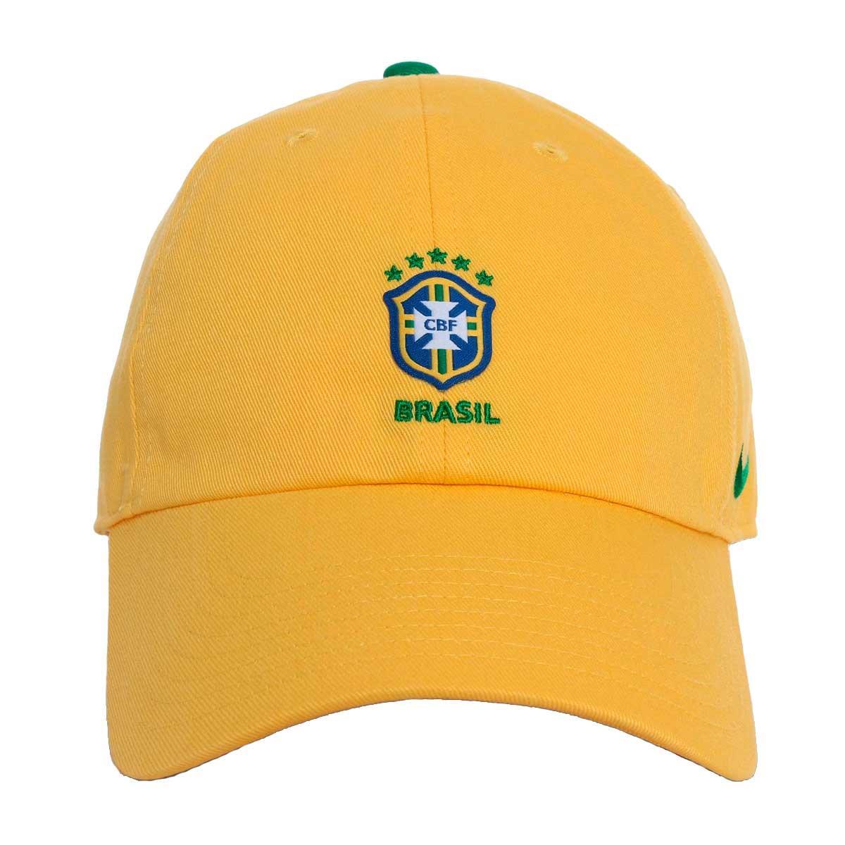 Boné Nike Brasil H86 CORE 2018 Tamanho Único f43b88b9993
