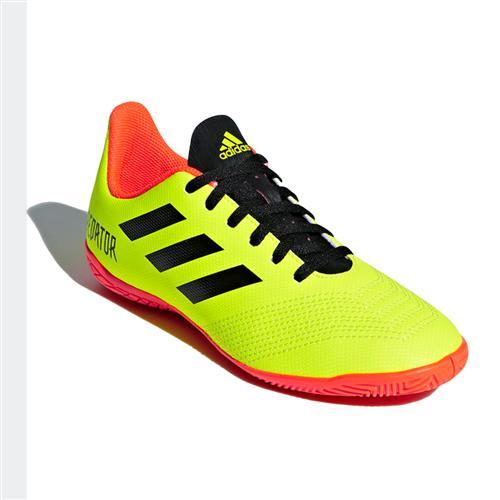 ad4672b130 Chuteira Futsal Adidas Predator Tango 18.4 Infantil Amarela Neon