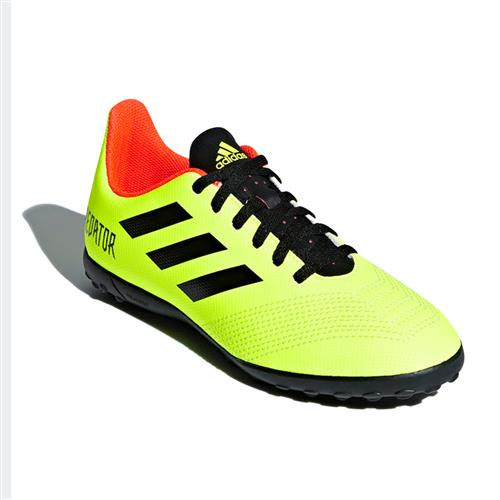 Chuteira Society Adidas Predator Tango 18.4 Infantil Amarela Neon 8c3456fa5322f