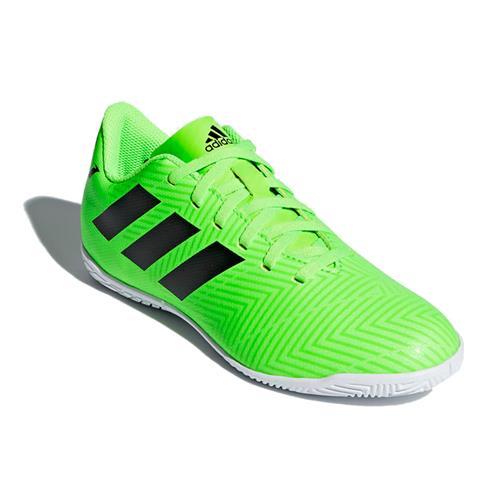 b6c2161d3cecb Chuteira Futsal Adidas Nemeziz Messi Tango 18.4 Infantil Verde Limão