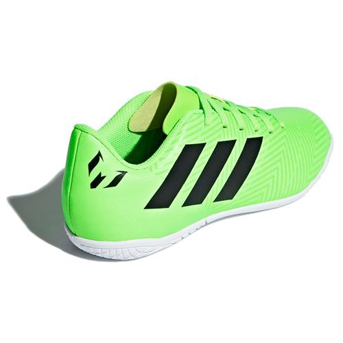 Chuteira Futsal Adidas Nemeziz Messi Tango 18.4 Infantil Verde Limão aa73cab62ee8c