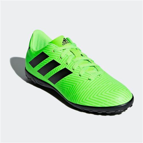 Chuteira Society Adidas Nemeziz Messi Tango 18.4 Infantil Verde Limão 08c4758bd692d