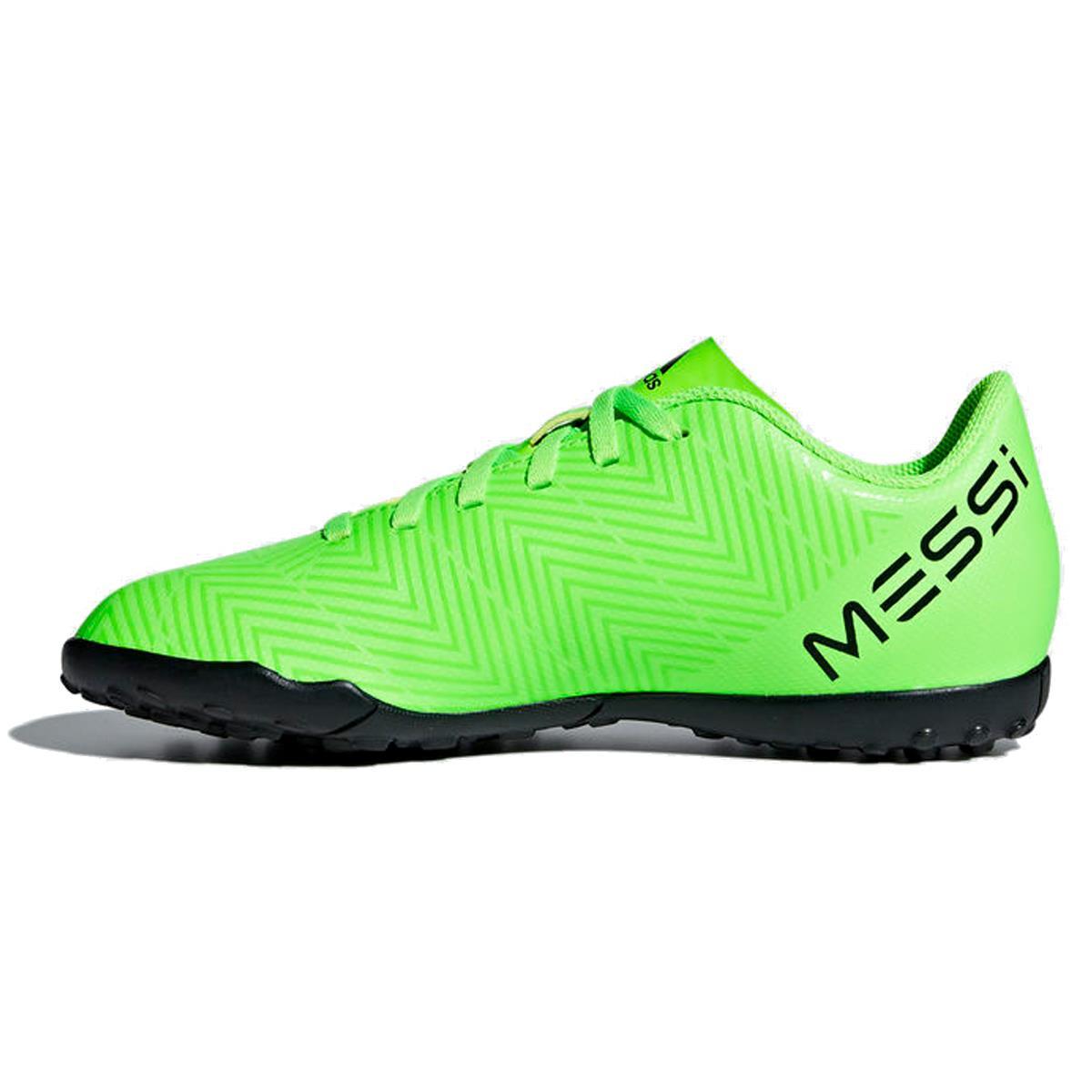 3871bee0bc Chuteira Society Adidas Nemeziz Messi Tango 18.4 Infantil Verde Limão