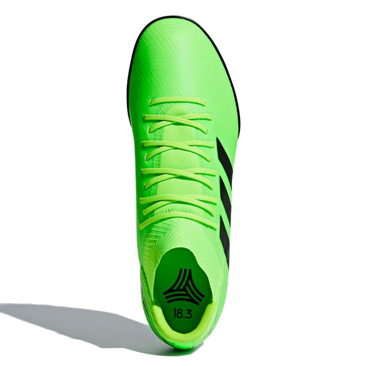 30e147faaa Chuteira Society Adidas Nemeziz Messi Tango 18.3 Verde Limão