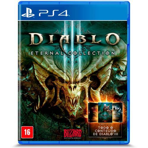 Jogo Diablo Iii: Eternal Collection - Playstation 4 - Blizzard Entertainment