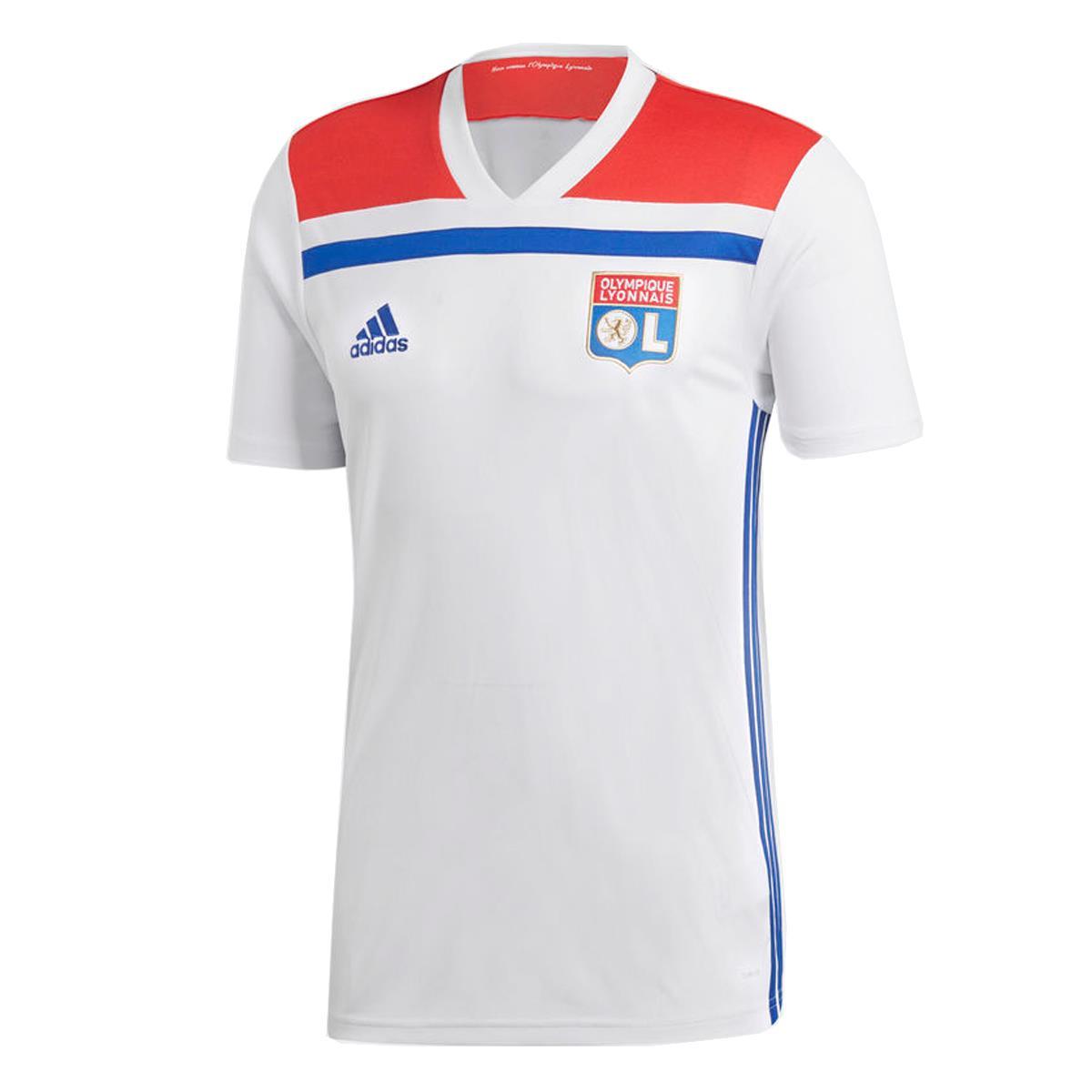 d059d03fe Camisa Adidas Olympique Lyonnais 2018 19 Masculina