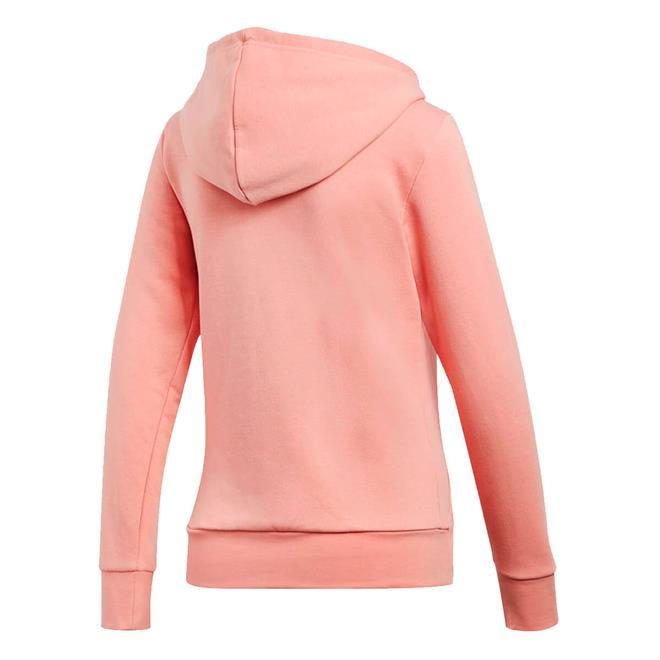bc5c7393ab4 Jaqueta Adidas com Capuz Essentials Solid Rosa Claro Feminina. Ampliar