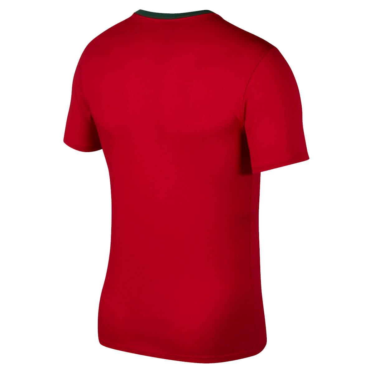 8dc3bde32 Camiseta Nike Portugal 2018 19 Crest Masculina