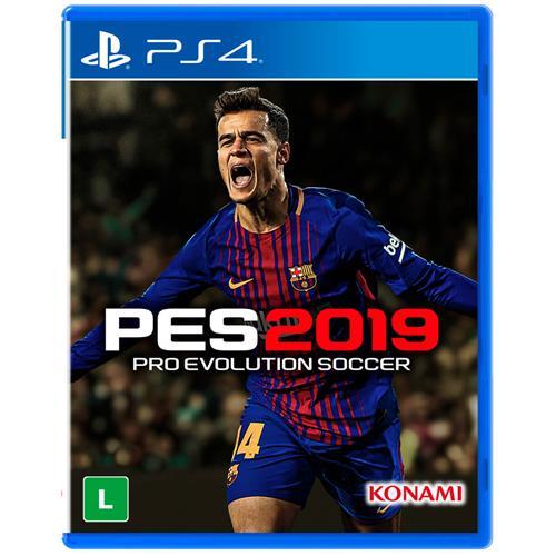 Jogo Pes 2019 - Playstation 4 - Konami