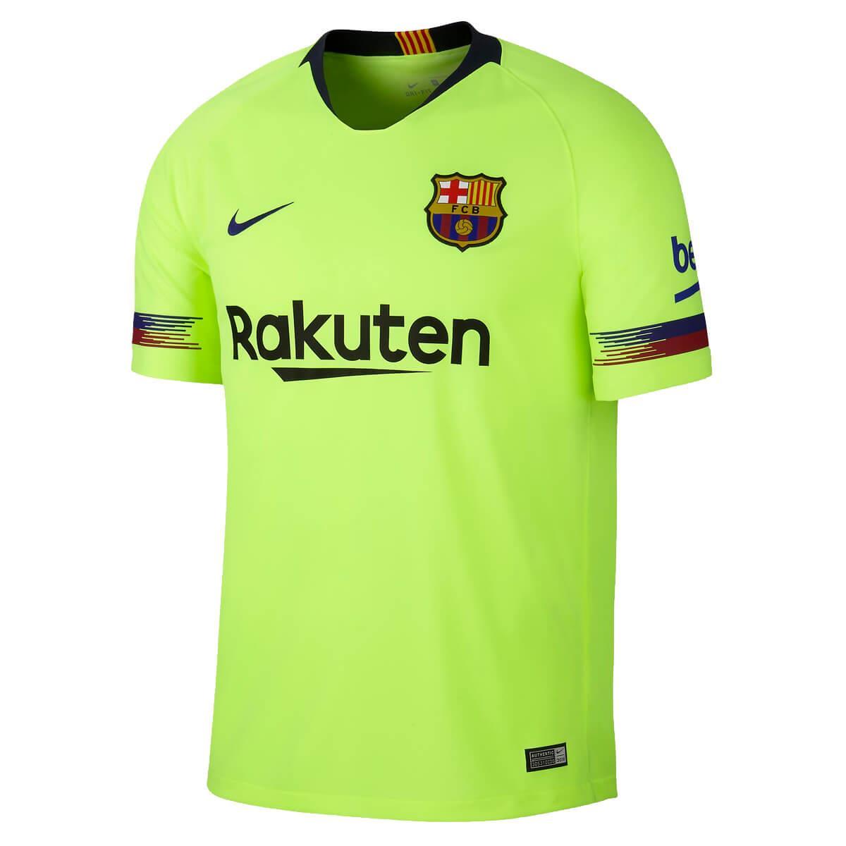 f079a93d3f Camisa Nike Barcelona II 2018 19 Torcedor Masculino