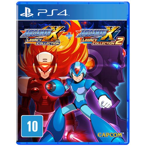 Jogo Mega Man X Legacy Collection 1+2 - Playstation 4 - Capcom