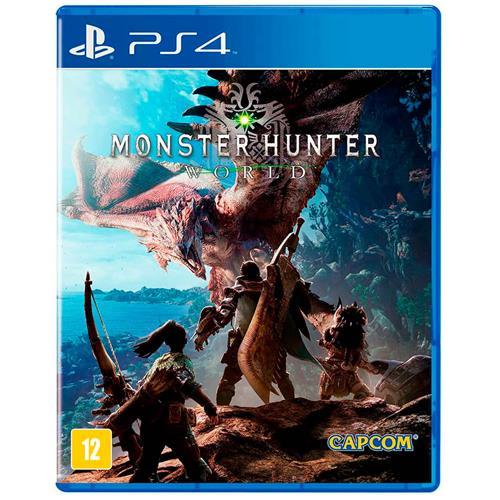 Jogo Monster Hunter World - Playstation 4 - Capcom