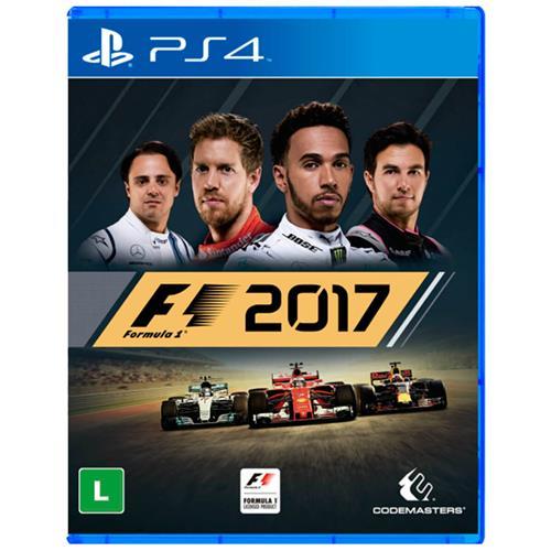 Jogo F1 2017 - Playstation 4 - Codemasters