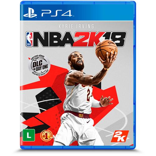 Jogo Nba 2k18 - Playstation 4 - 2k Games