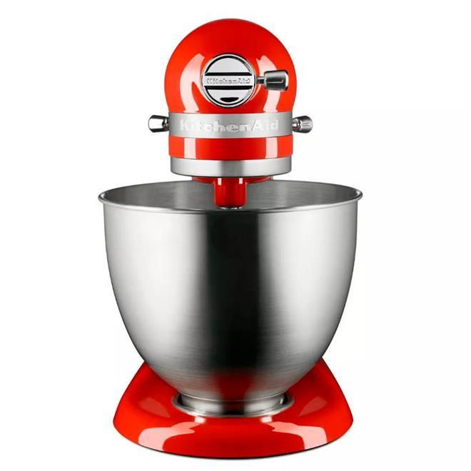 batedeira planetária kitchenaid stand mixer artisan mini