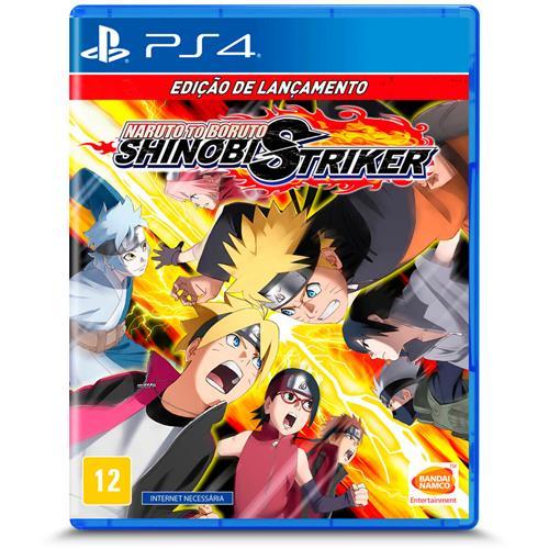 Jogo Naruto To Boruto: Shinobi Striker - Playstation 4 - Bandai Namco Games