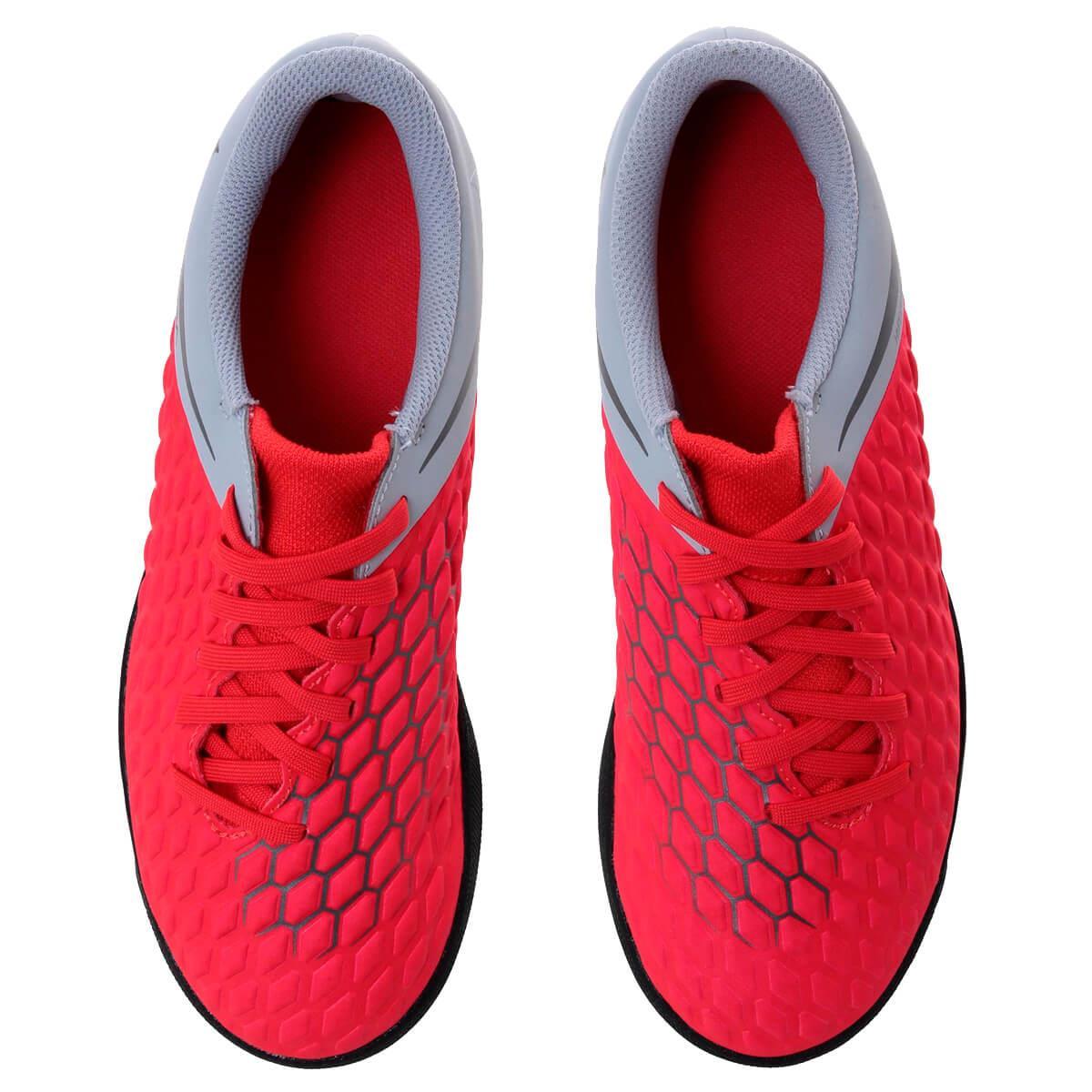 Chuteira Society Nike HypervenomX III Club Infantil 5366edbcabce1