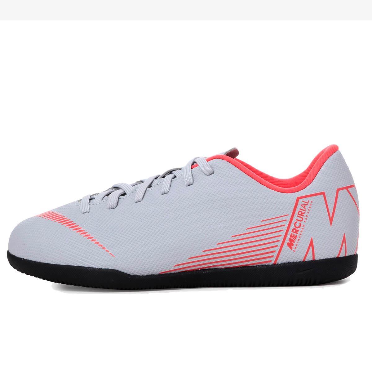 49126f99ab Chuteira Futsal Nike MercurialX Vapor XII Club Infantil