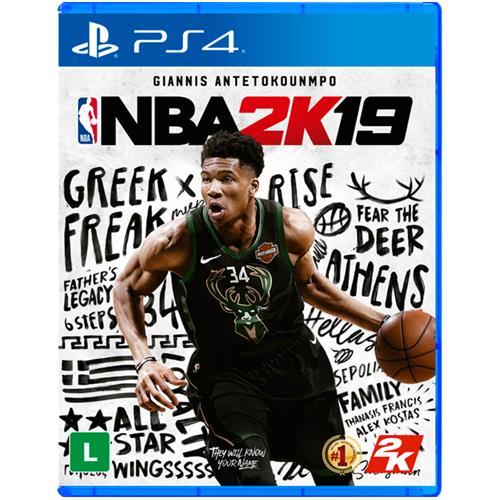 Jogo Nba 2k19 - Playstation 4 - 2k Sports