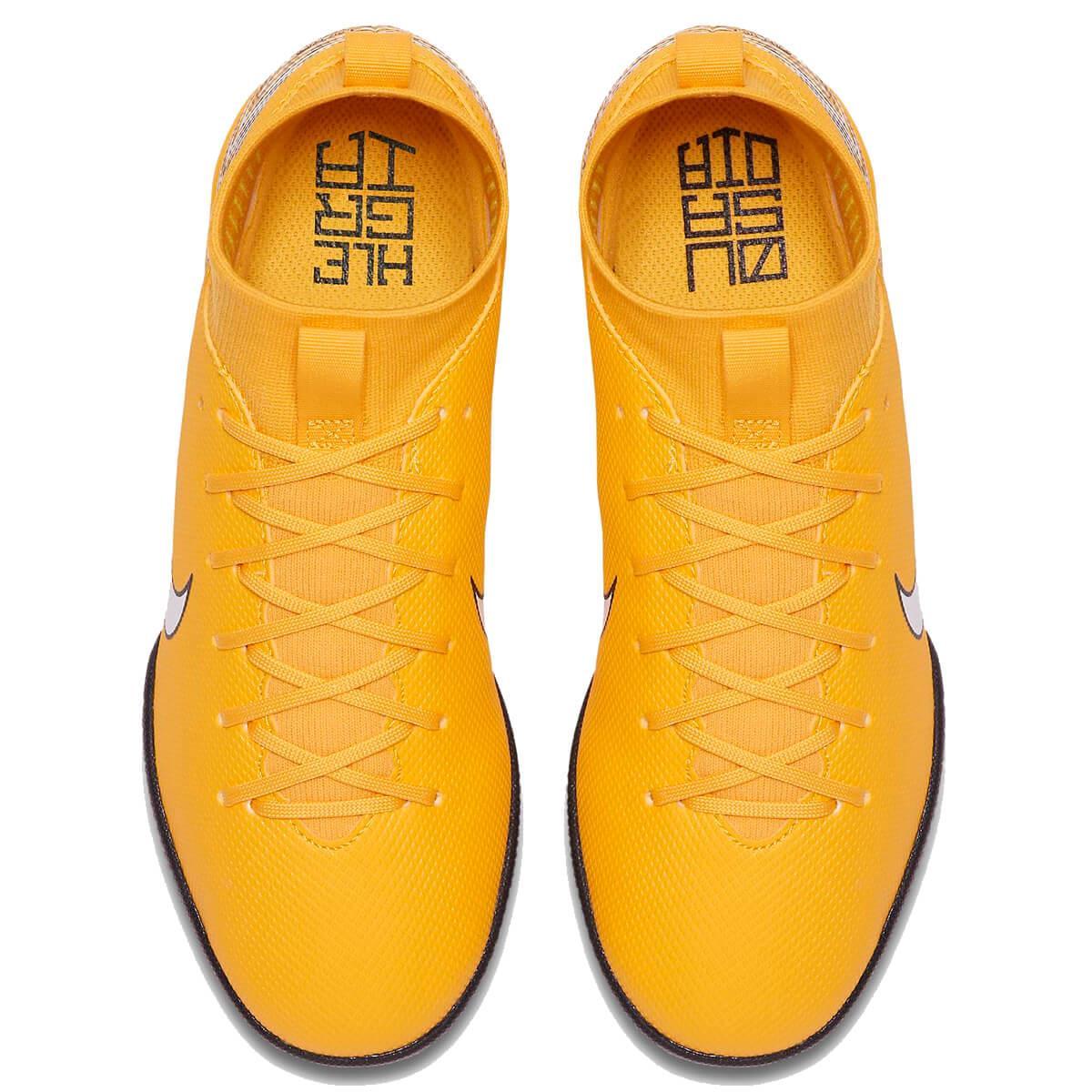ee491c212 Chuteira Futsal Nike MercurialX Superfly Academy Neymar Infantil
