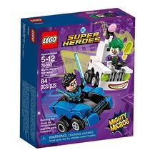 LEGO Mighty Micros/Super Heroes - Asa Noturna vs. Coringa (76093) - 84 Peças