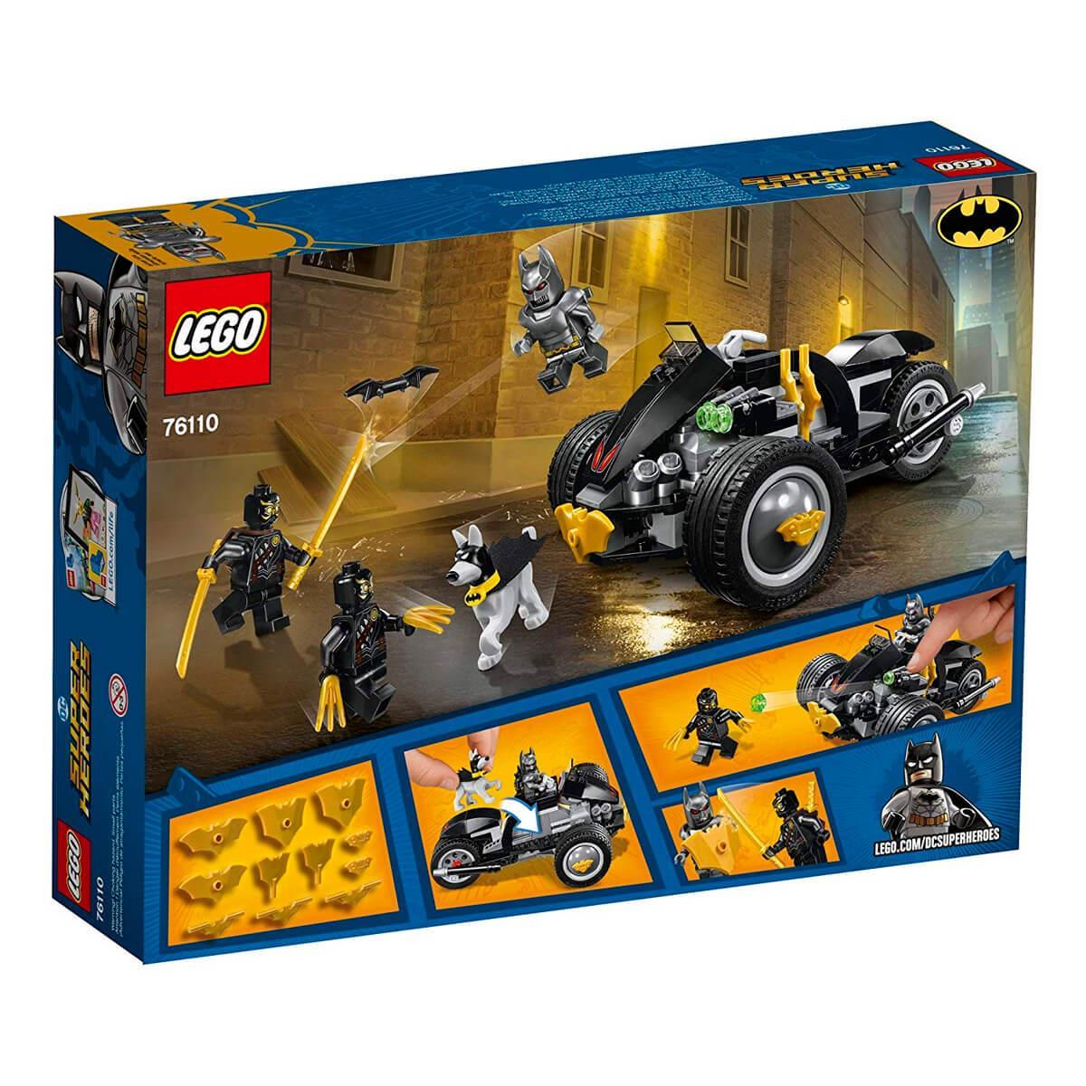 0daec98ef5ab3 LEGO DC Super Heroes - Batman  Ataque dos Garras (76110) - 155 Peças