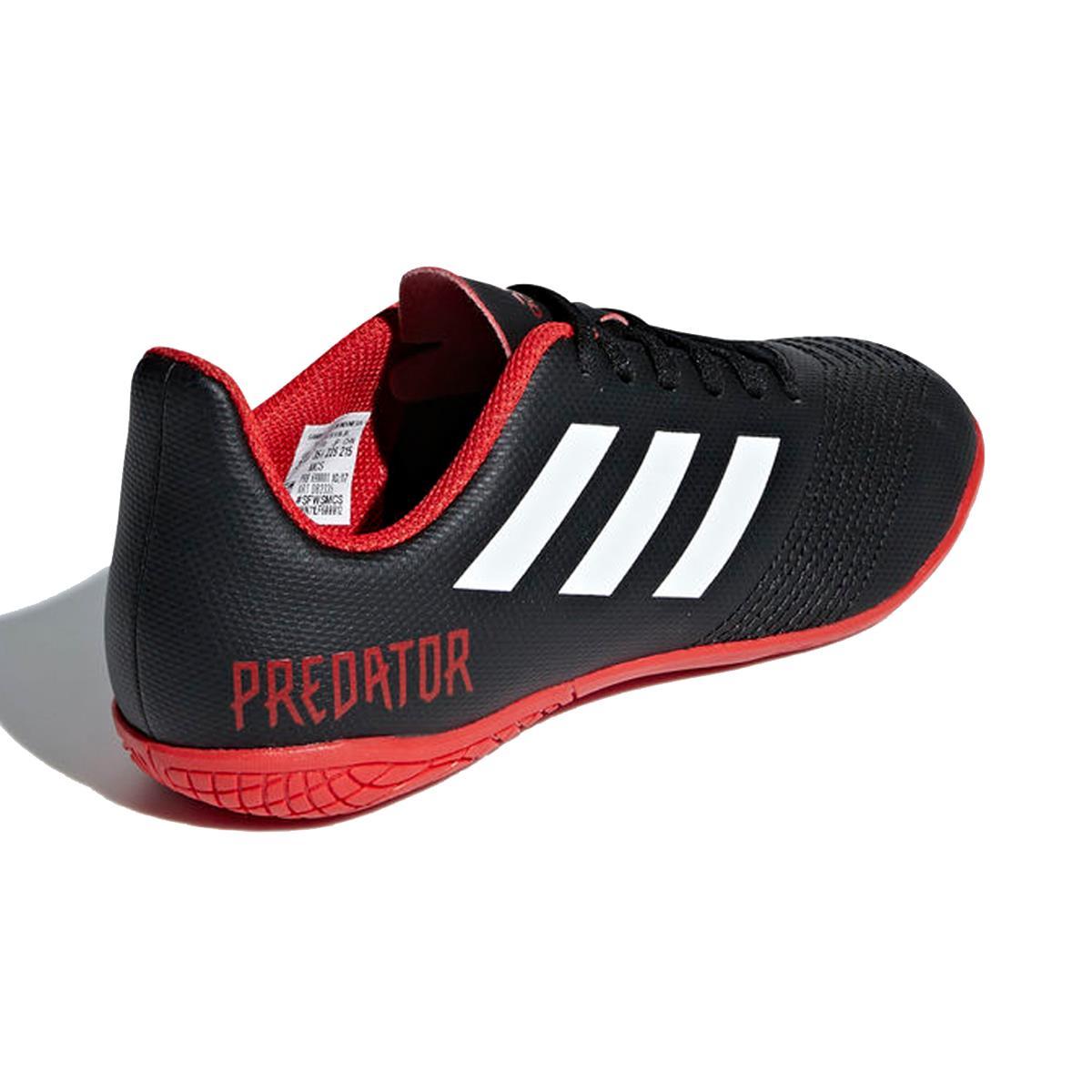 d93c38102d Chuteira Futsal Adidas Predator Tango 18.4 Infantil Preta