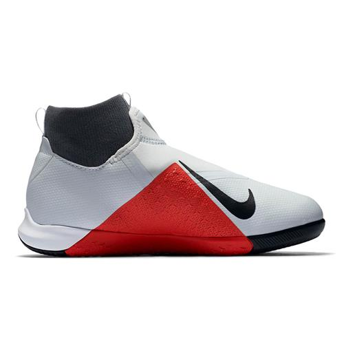d56fc2c7a3 Chuteira Futsal Nike Phantom Vision Academy Infantil Cinza