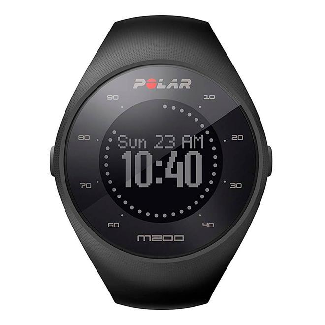 0081380759c Relógio Esportivo Polar M200 com GPS e Monitor Cardíaco Preto. Ampliar