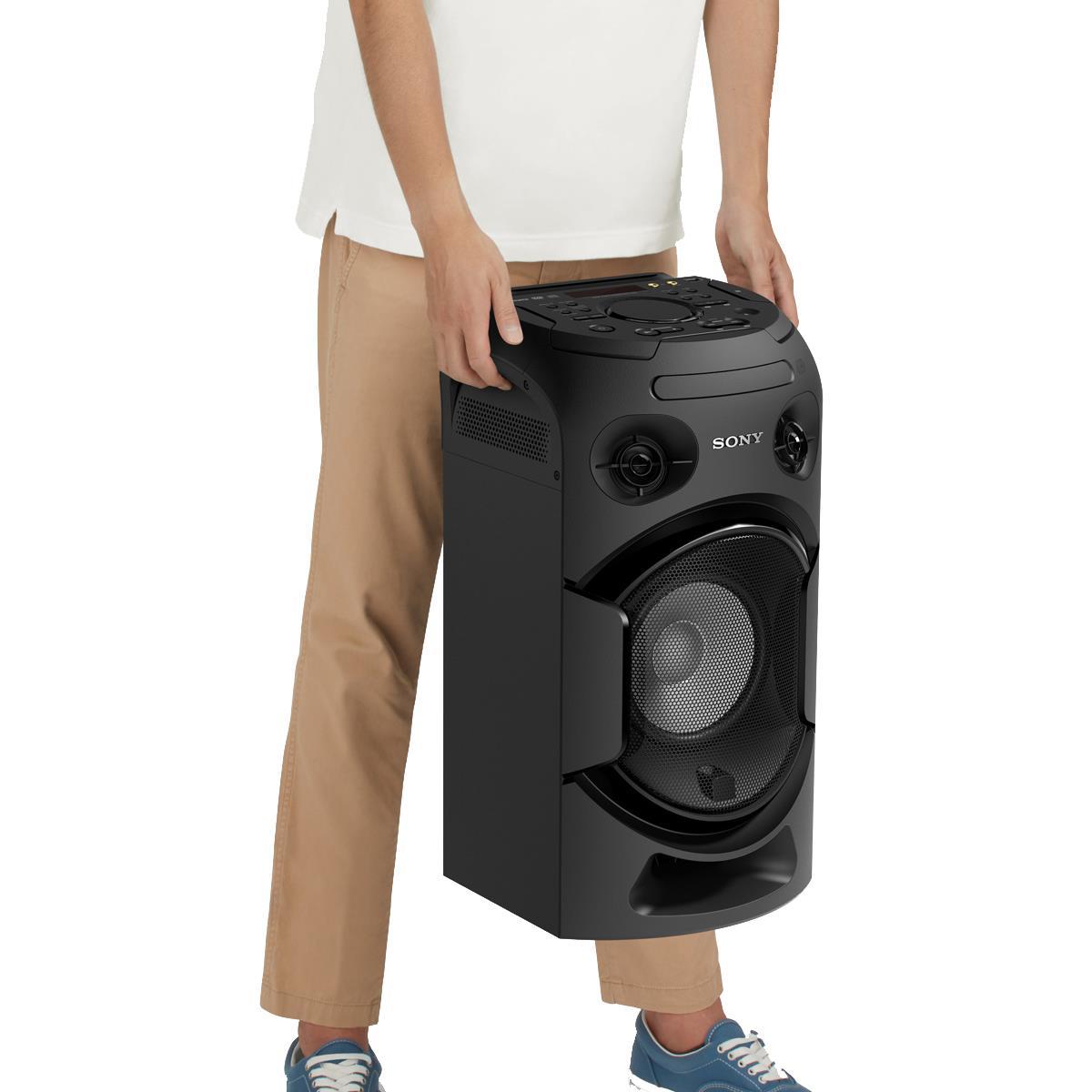 14a5e916e Mini System Bluetooth Sony MHC-V21D Tipo Torre com DVD e conexão HDMI ARC