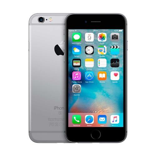 """iPhone 6S Apple com Tela de 4.7"""", 4G, Câmera iSight 12MP e iOS 9 BZ/A"""