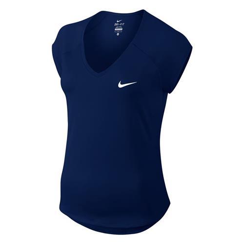 d4d949456a27c Camiseta Nike Pure Top Manga Curta Feminina