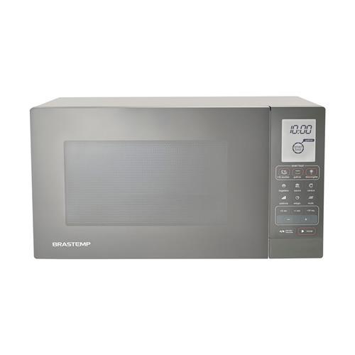 Micro-ondas Brastemp Prata 30L e Grill BMY45AR