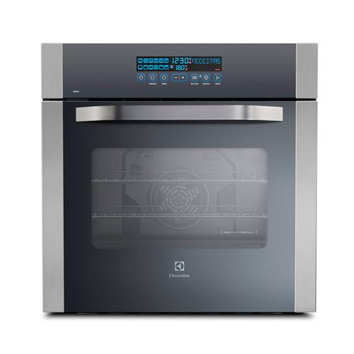 Forno Elétrico Electrolux OE8TX Inox 80L e Painel Digital Blue Touch 220V