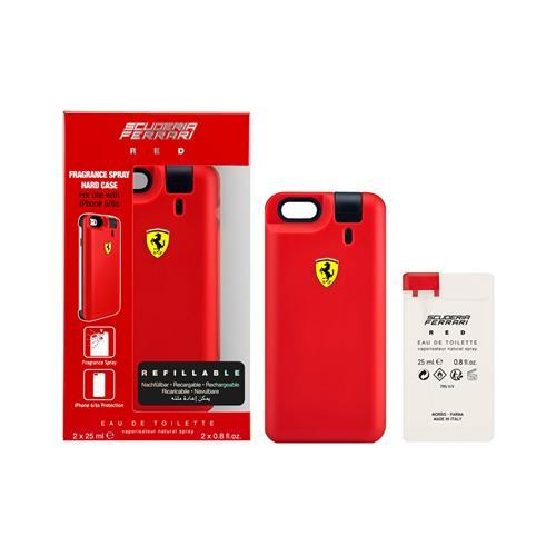 Perfume Scuderia Ferrari Red com iPhone Cover Eau de Toilette 25 ml + Refil 25 ml