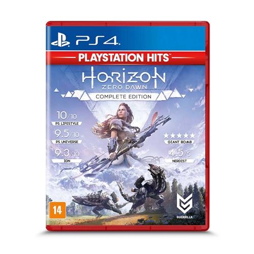 Jogo Horizon: Zero Dawn Complete Edition - Playstation 4 - Guerrilla Games