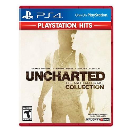 Jogo Uncharted: The Nathan Drake Collection Hits - Playstation 4 - Sieb