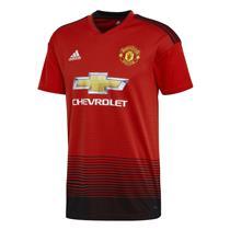Camisa Adidas Manchester United I 2018 Vermelho Masculina 2eed446cfd615