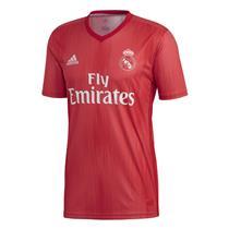 Camisa Adidas Real Madrid 2018 Masculina Vermelho 713361513945d