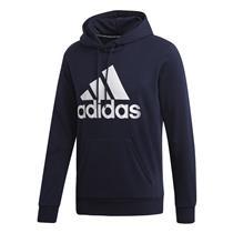 Agasalho Com Capuz Adidas Must Haves Badge Of Sport Masculino Azul Escuro d7cb819904c18