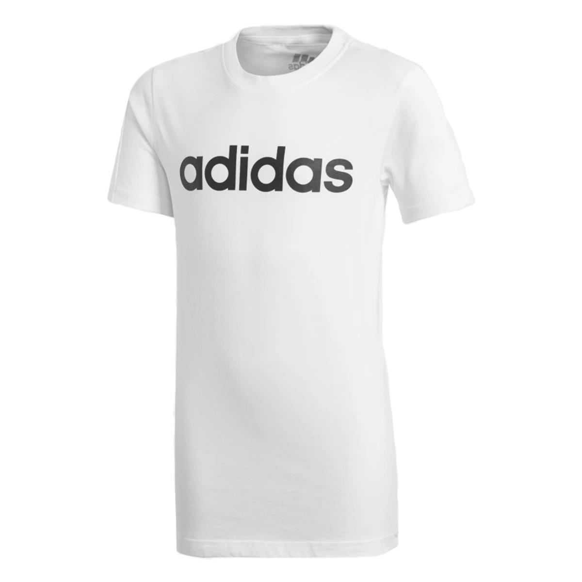 2ba9fad0a0e91 Camiseta Adidas Essentials Linear Infantil Meninos