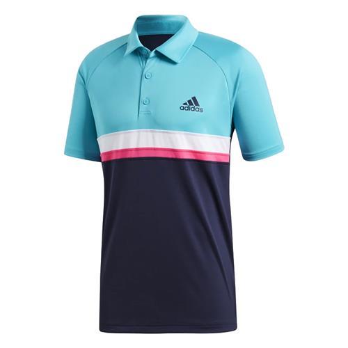 084b43d73 Camisa Polo Adidas Colorblock Club Masculina