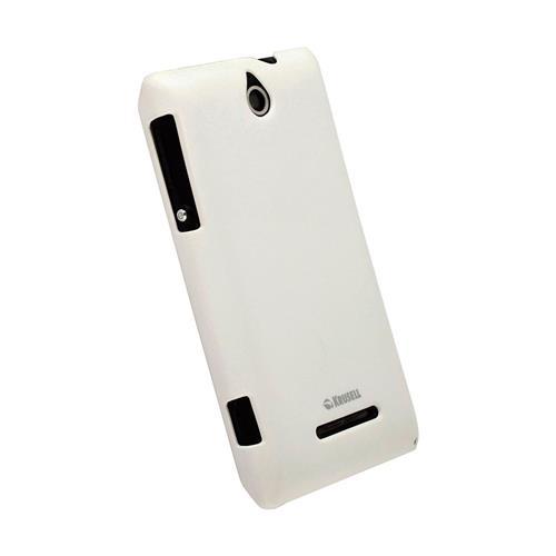 Capa Protetora Krusell para Sony Xperia E Dual Branca