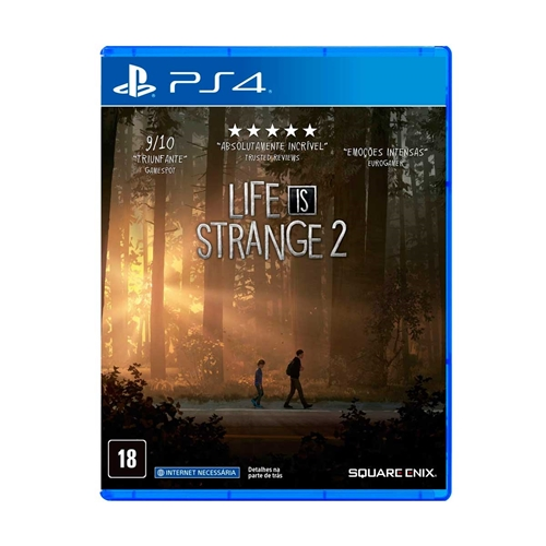 Jogo Life Is Strange 2 Complete Season - Playstation 4 - Square Enix