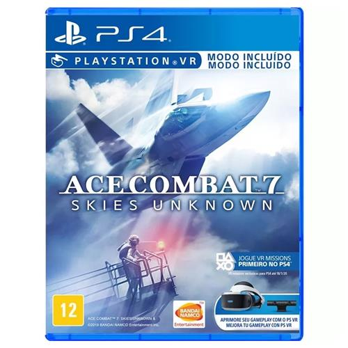 Jogo Ace Combat 7: Skies Unknown - Playstation 4 - Bandai Namco Games