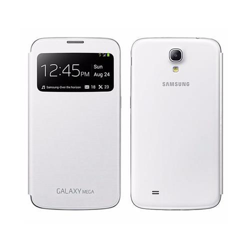 Capa Protetora Samsung S View Branca para Galaxy Mega 6.3