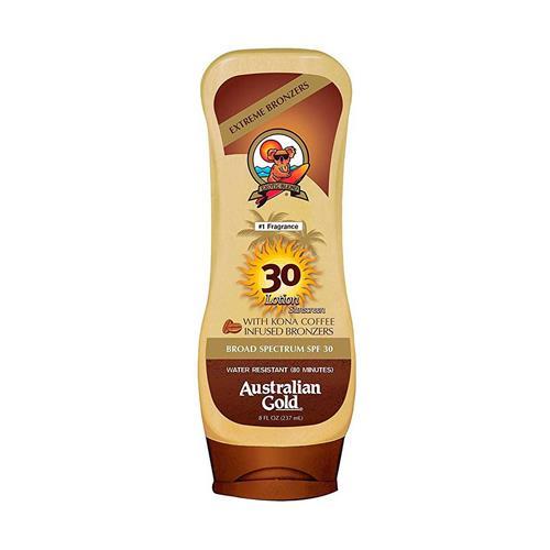 Australian Gold FPS 30 Kona Coffee Instant Bronzer - Protetor Solar 237 ml