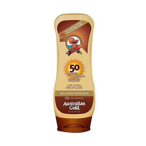 Australian Gold FPS 50 Kona Coffee Instant Bronzer - Protetor Solar 237 ml